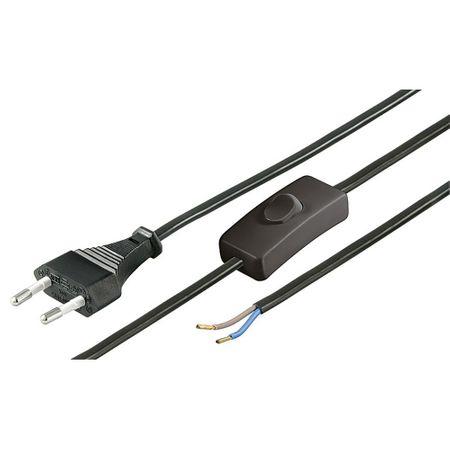 Cablu de alimentare cu comutator Goobay NK 105 S - 150 1.5m-big