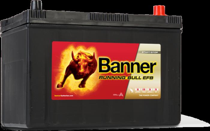 Acumulator Auto Banner Running Bull EFB Asia 95 Ah 59515-big