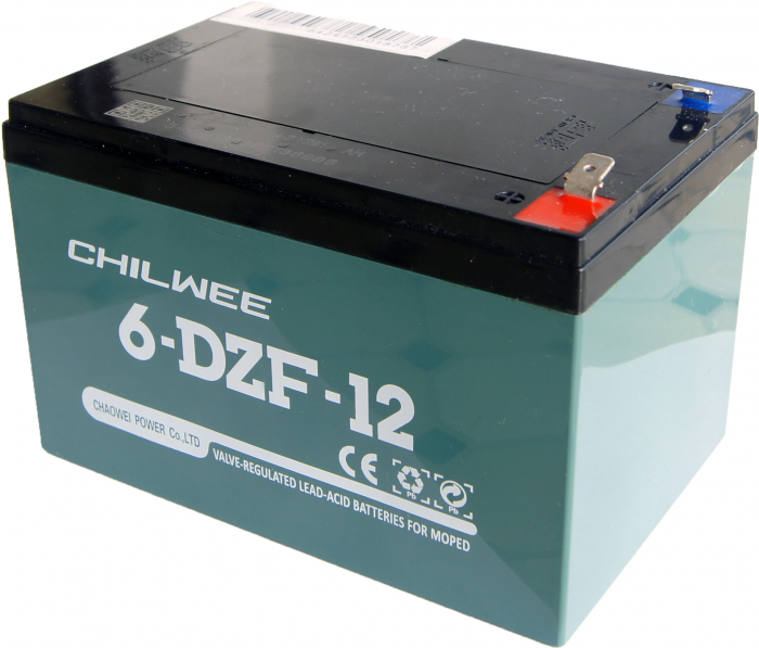 Acumulator VRLA Chilwee GEL 12V 12Ah(2hr) 6-DZF-12 (6-DZM-12) pentru biciclete electrice-big