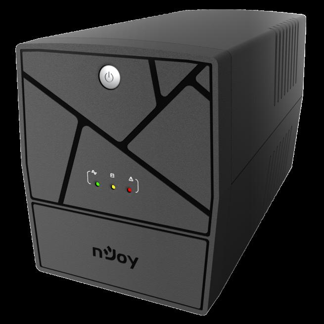 UPS nJoy Keen USB 1000, 1000 VA / 600 W, Management, HID USB port, Auto-restart, AVR, 4 prize Schuko cu protectie-big