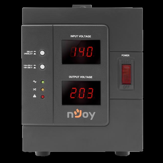 Stabilizator de tensiune nJoy Akin 3000VA/2400W-big