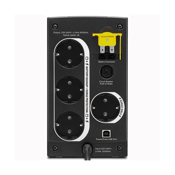UPS APC Back-UPS 700VA, Schuko, Line Interactive, BX700U-GR-big