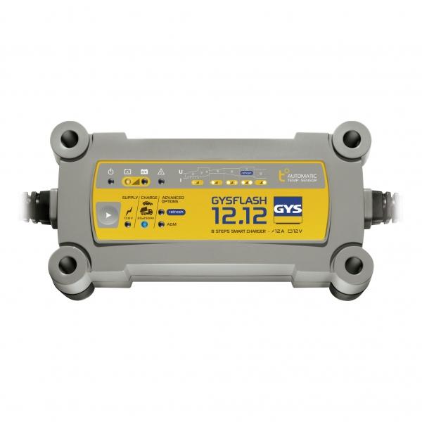 Incarcator si redresor profesional automat 12V GYSFLASH 12.12 029392-big