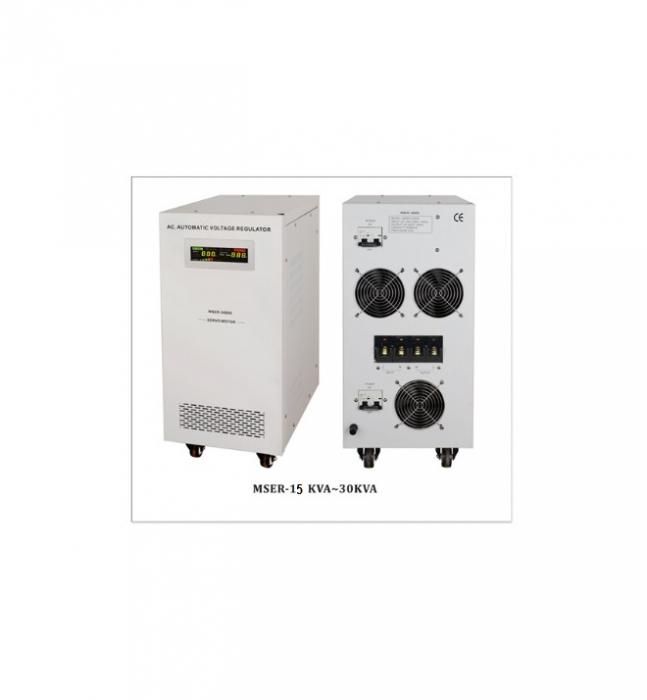 Stabilizator de tensiune cu servomotor Power Sistem MSER-15000-big