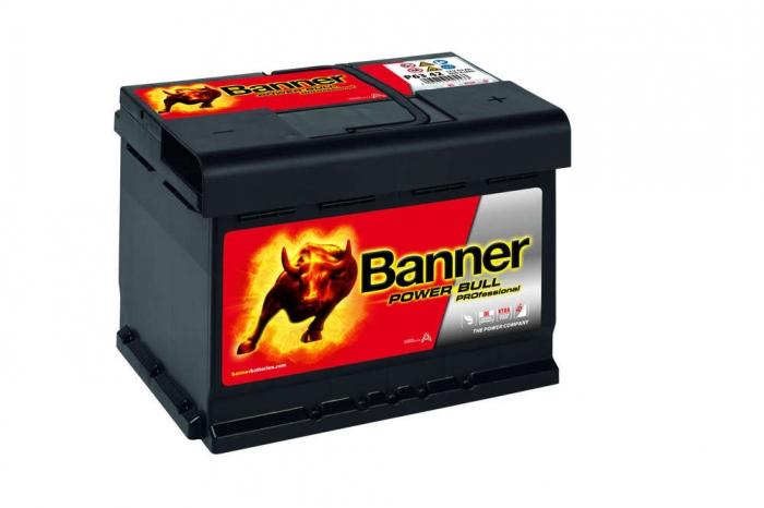 Acumulator Auto Banner Power Bull PRO 63 Ah cod P6342-big