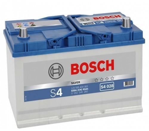 Acumulator AUTO BOSCH S4 95 AH ASIA BORNE INVERSE COD 0092S40290-big