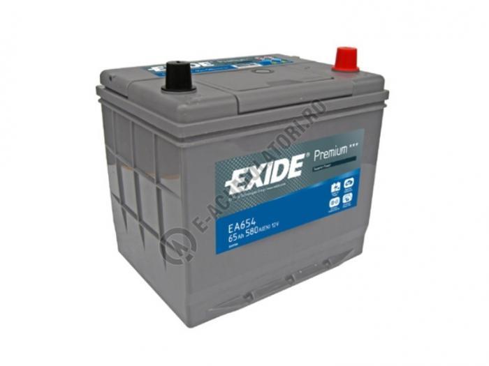 Acumulator Auto Exide ASIA Premium 65 Ah cod EA654-big
