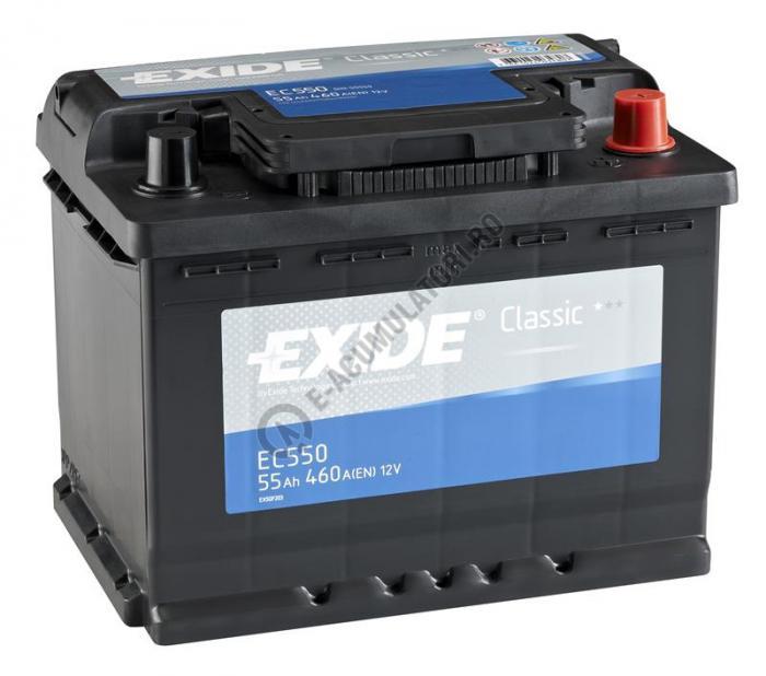Acumulator Auto Exide Classic 55 Ah cod EC550-big