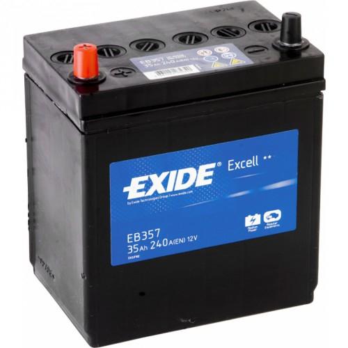 Acumulator Auto Exide Excell Asia 35 Ah cod EB357 borne inverse-big
