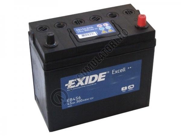 Acumulator Auto Exide Excell Asia 45 Ah cod EB456-big