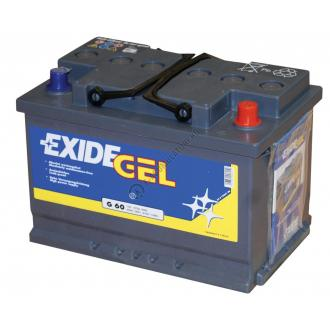 Acumulator Auto Exide GEL  60 Ah cod G60-big