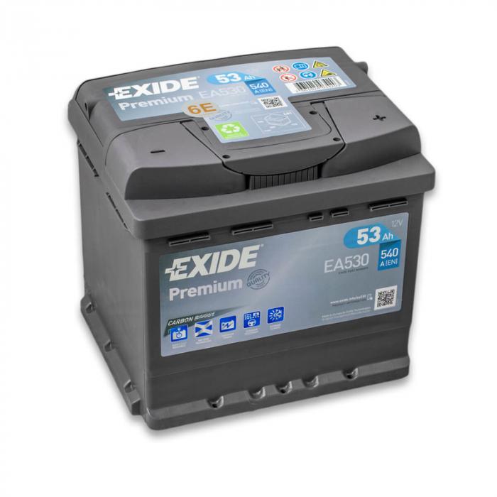 Acumulator Auto Exide Premium 53 Ah cod EA530-big
