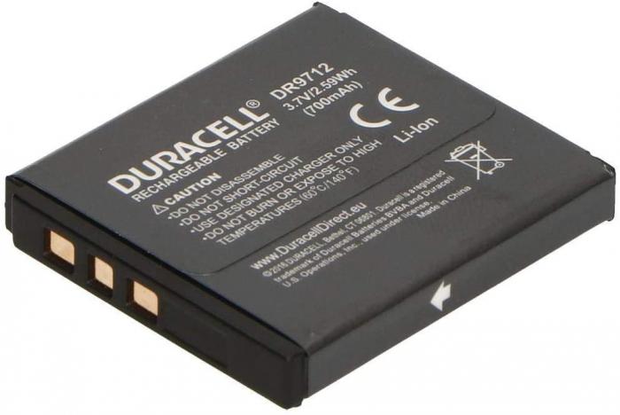 Acumulator Duracell DR9712 pentru camere digitale-big