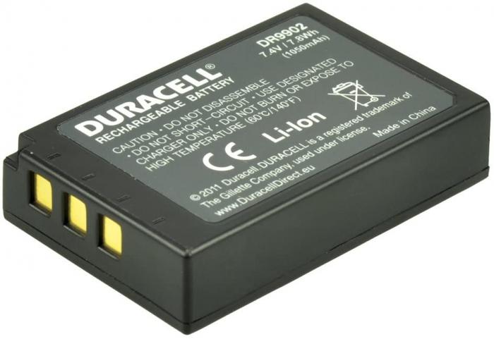 Acumulator Duracell DR9902 pentru camere digitale-big