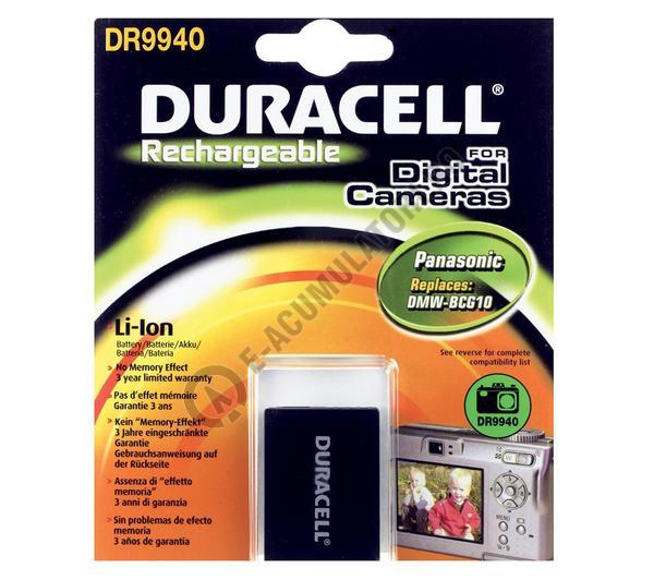 Acumulator Duracell DR9940 pentru camere digitale-big