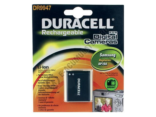 Acumulator Duracell DR9947 pentru camere digitale-big