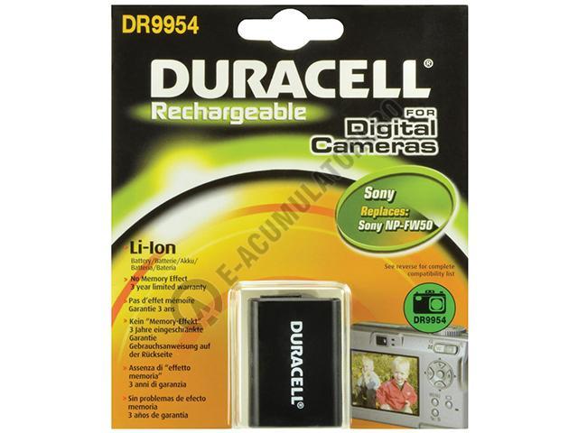 Acumulator Duracell DR9954 pentru camere digitale SONY NP-FW50 7.4v 850mAh 6.3Wh-big