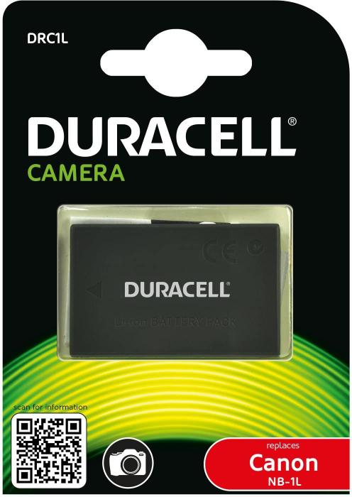 Acumulator Duracell DRC1L pentru camere digitale-big