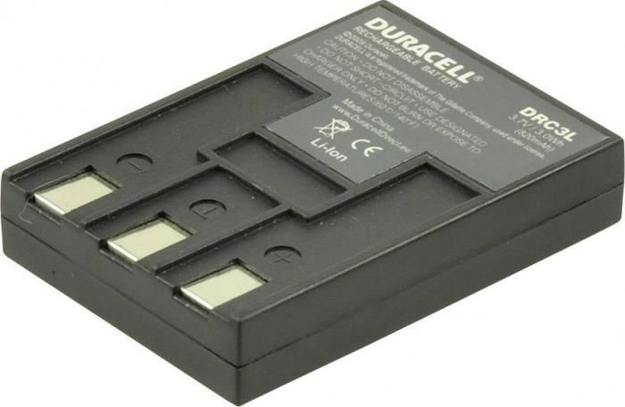 Acumulator Duracell DRC3L pentru camere digitale-big