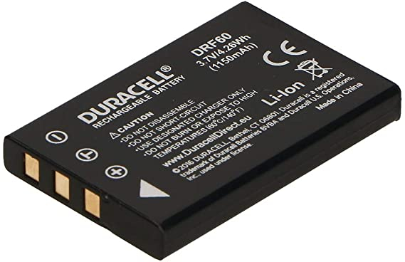 Acumulator Duracell DRF60 pentru camere digitale-big