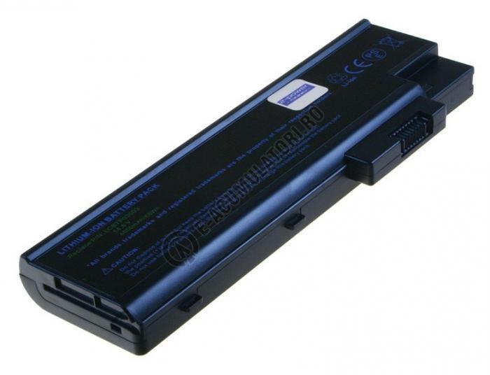 Acumulator LAPTOP 2-POWER compatibil pentru Acer Aspire 1410, 1640 Series, 3000 Series, 5000 Series, 8 celule Li-Ion 14.8v 4600mAh-big