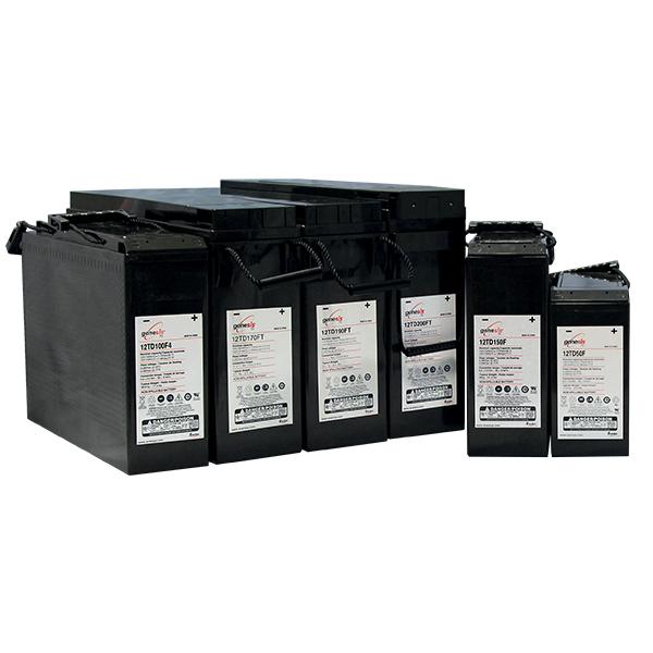Acumulator TD Genesis 12V 100Ah 12TD100F4-big