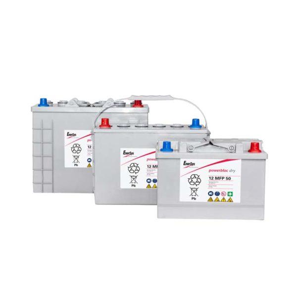 Acumulator Tractiune Powerbloc Dry GEL Enersys 12V 105 Ah 12 MFP 105-big