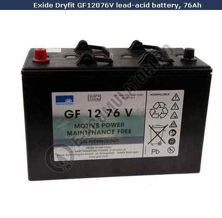 Acumulator TRACTIUNE Sonnenschein dryfit bloc GF12076V 12V 76 AH-big