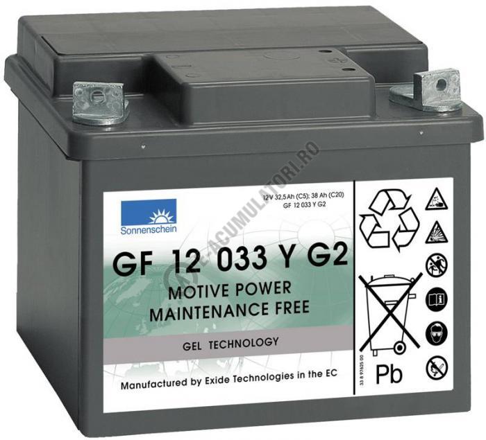 Acumulator TRACTIUNE Sonnenschein dryfit bloc GF1233Y1 12V 38 AH-big