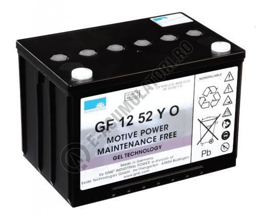 Acumulator TRACTIUNE Sonnenschein dryfit bloc GF1252Y 12V 60 AH-big