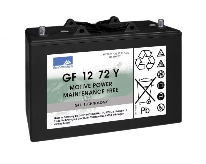 Acumulator TRACTIUNE Sonnenschein dryfit bloc GF1272Y 12V 80 AH-big