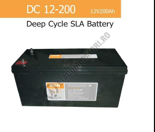 Acumulator VRLA BSB 12 V 200 Ah cod DC12-200-big