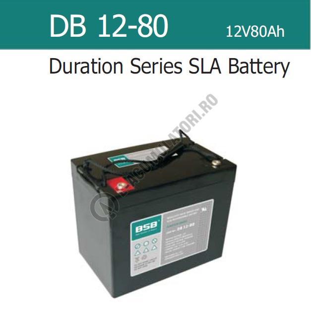 Acumulator VRLA BSB 12 V 80 Ah COD DB12-80-big