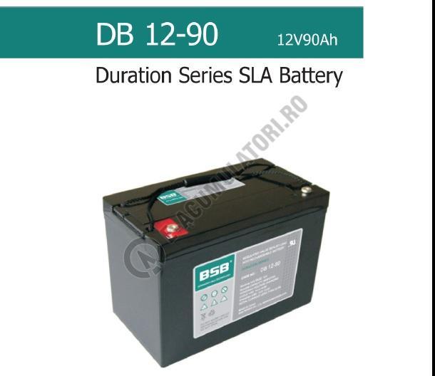Acumulator VRLA BSB 12 V 90 Ah COD DB12-90-big