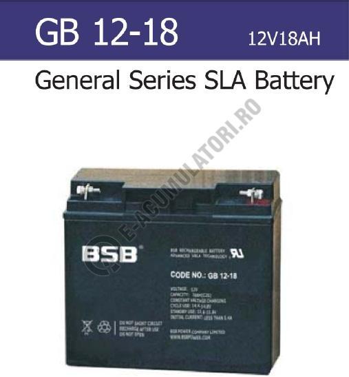 Acumulator VRLA BSB 12V 18 Ah cod GB12-18-big