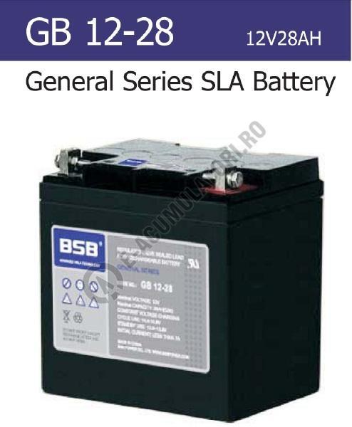 Acumulator VRLA BSB 12V 28Ah cod GB12-28-big