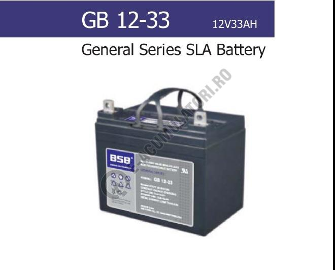 Acumulator VRLA BSB 12V 33 Ah cod GB12-33-big