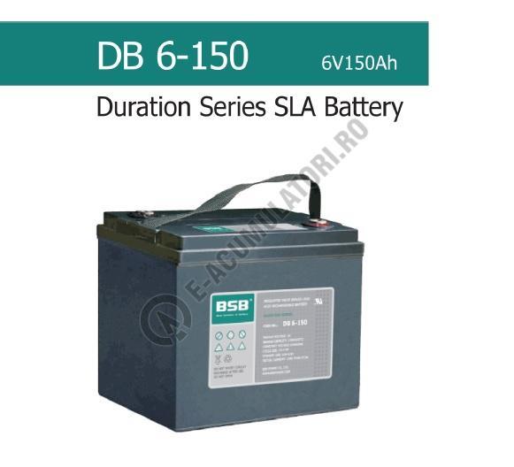 Acumulator VRLA BSB 6 V 150 Ah COD DB6-150-big
