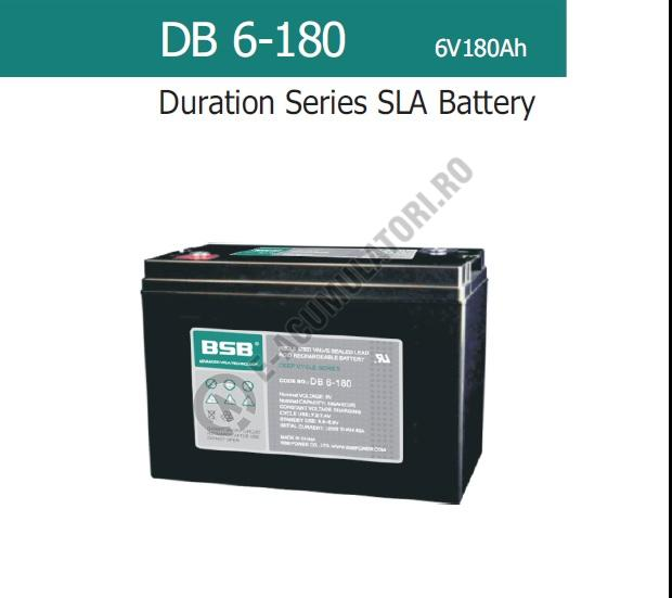 Acumulator VRLA BSB 6 V 180 Ah COD DB6-180-big