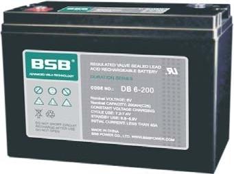 Acumulator VRLA BSB 6 V 200 Ah COD DB6-200-big