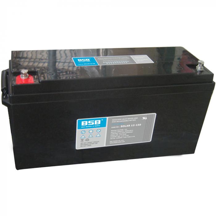 Acumulator VRLA cu GEL BSB 12 V 150 Ah cod SOLAR12-150-big