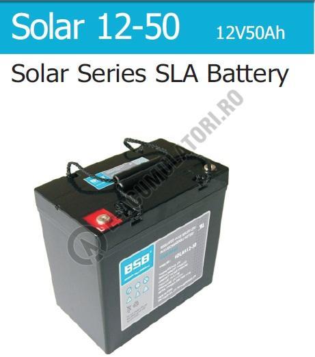 Acumulator VRLA cu GEL BSB 12 V 50 Ah cod SOLAR12-50-big