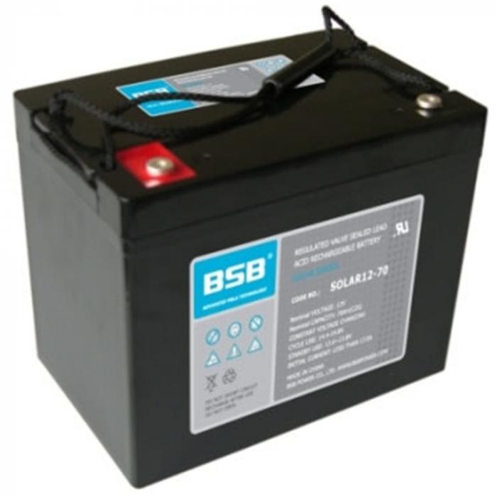 Acumulator VRLA cu GEL BSB 12 V 70 Ah cod SOLAR12-70-big