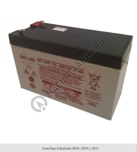 Acumulator VRLA GENESIS 12V 8.5 Ah DATASAFE NPX35 35W/Cell 15 min-big