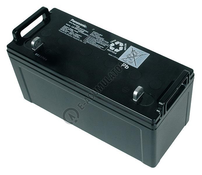 Acumulator VRLA Panasonic 12V 100 Ah cod LC-XB12100P (M8 bolt)-big