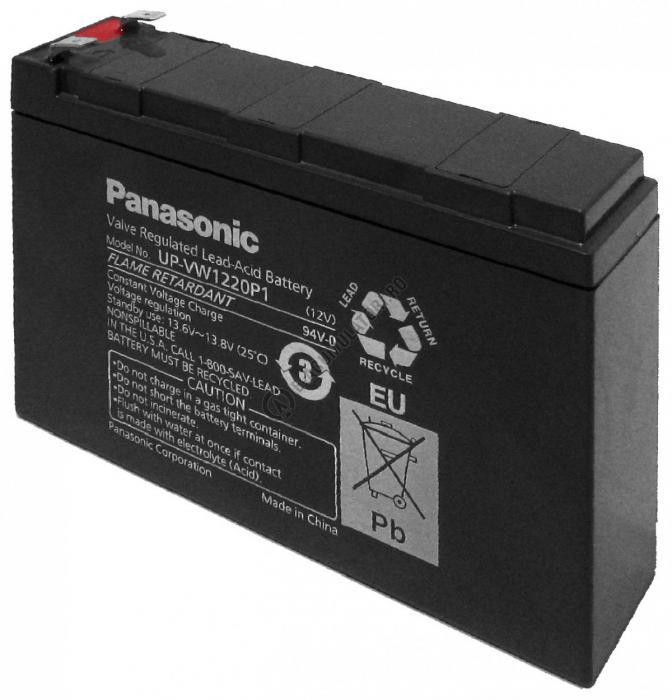 Acumulator VRLA Panasonic 12V 120 W 20W/celula cod UP-VW1220P1-big