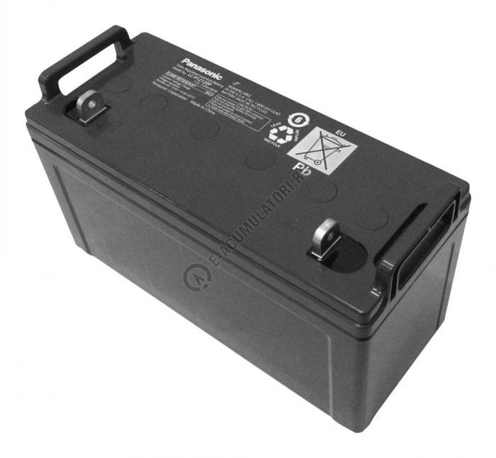 Acumulator VRLA Panasonic 12V 120 Ah cod LC-P12120P (M8 bolt)-big