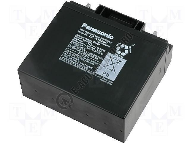 Acumulator VRLA Panasonic 12V 20 Ah cod LC-X1220P/ LC-X1220AP-big