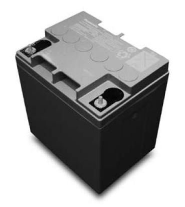 Acumulator VRLA Panasonic 12V 24 Ah cod LC-QA1224AP (M5 nut & threated post)-big