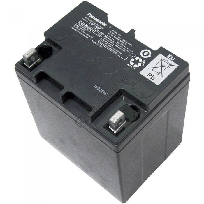 Acumulator VRLA Panasonic 12V 28 Ah cod LC-P1228AP (M5 nut & threated post)-big